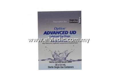 Allergan Optive Advanced UD Lubricant Eye Drops (30's)