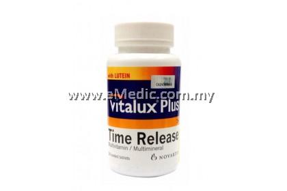 Vitalux Plus Time Release Multivitamin / Multimineral 30's